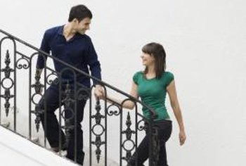 Stairs easily transmit noise in your home.