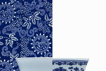 Blue and white porcelain comes in many forms and designs.