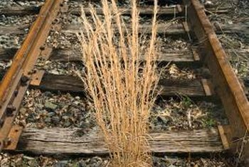 Landscape ties resemble the large blocks of wood used to secure railroad tracks.