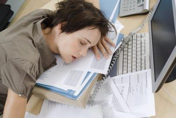 Employees with substance abuse issues may slack off or sleep on the job.