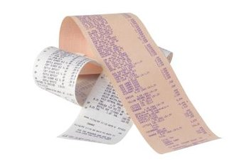Scan receipts to your laptop.