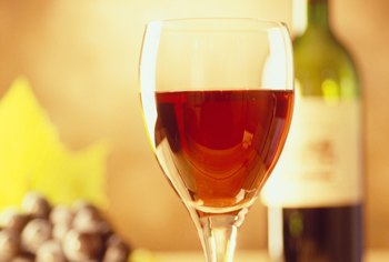 Locally produced wines are sold in restaurants and wine shops.