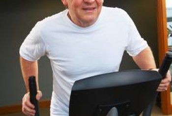 The elliptical trainer is a joint-friendly choice for cardiovascular exercise.