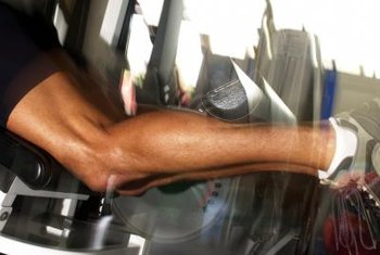 Lifting your heels as high as possible during workouts helps tone calves.