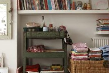 Teaching kids tidiness needs to be a priority when they live in a small space.