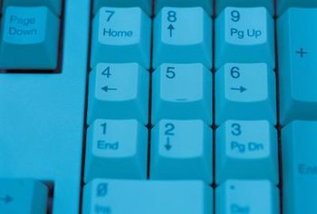 Using the ten-key pad, you can enter any symbol in a font.