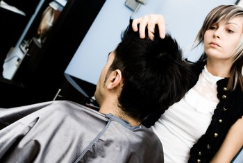 Upscale salon hair stylists earn more on the coasts.