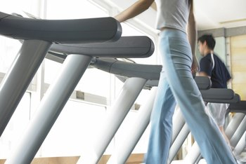 Walking on an incline will increase the calories burned per session.