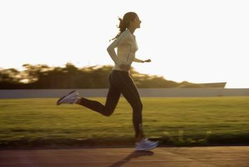 Running strengthens and tones your lower-body muscles.