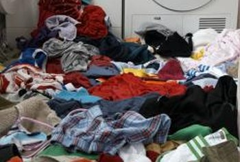 Overloading your washing machine could damage it.