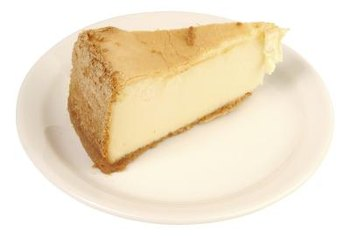 Use sugar substitutes to make cheesecake without sugar.