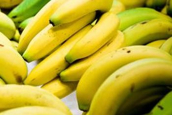 Bananas are a very good source of potassium.