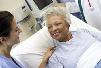 Catheterization procedures are performed on conscious patients, often on an outpatient basis.