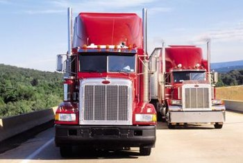 You'll need to meet federal and state filing requirements when operating a truck for business purposes.