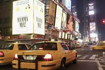 Advertise on ubiquitous objects like taxi cabs to break through advertising clutter.