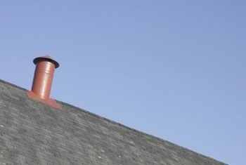 Roof vents are usually located above bathrooms, kitchens and laundry rooms.