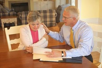 Probate paralegals may meet with clients following a death.
