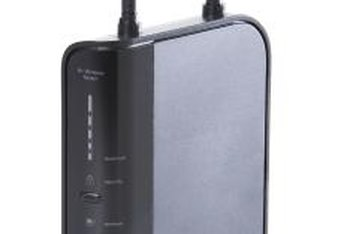 Wireless routers encrypt their wireless signals to prevent unauthorized access.