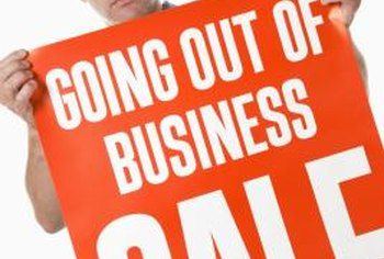 Check state laws before scheduling a going-out-of-business sale.