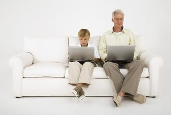 Modern websites appeal to older and younger Web surfers.