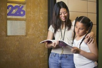 Teacher's assistants help students succeed.