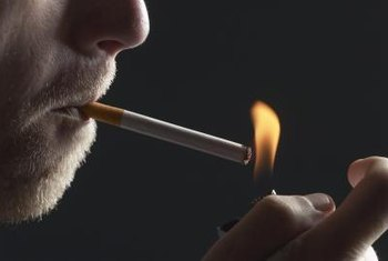 Smoking increases your risk for ulcers.