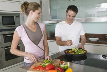 Control your intake of sodium, sugar and fat by cooking food at home.
