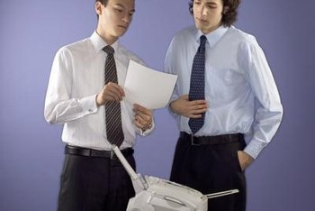 Office fax machines are often accessible to large numbers of people.