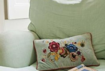 Sagging, uncomfortable cushions are cheap and easy to fix.