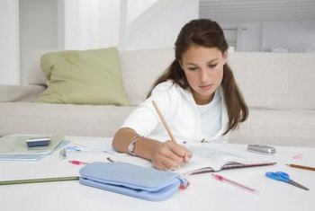 Homework is a source of frustration for some children.
