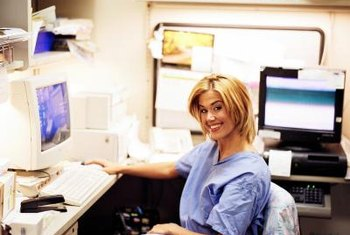 Nurse informaticists combine nursing and information management in one career.