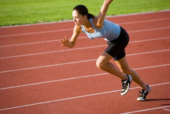 Sprinting is an anaerobic activity.