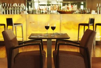 Your wine bar's design should fit your clientelle.