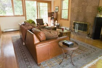 A leather couch is more durable than a similar fabric couch.