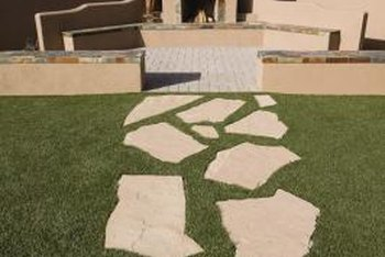 Flagstone adds a timeless touch to outdoor areas.