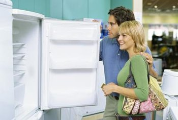You can customize your fridge by changing the door swing.