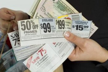 Coupons can market products at local stores or national brands.