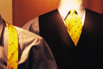 Avoid loud colors when dressing for a job interview.