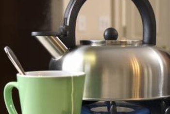 Gas stoves boil water faster than electric ranges.