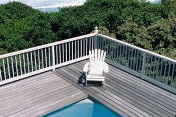 Keep your wooden deck clean and dry to extend its life.