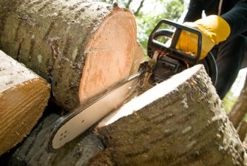Frequent maintenance is necessary to keep a chainsaw in good condition.