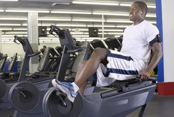 Recumbent bikes build muscles from calves to hips.