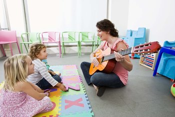 Music therapists help patients using a variety of different music-related treatments.