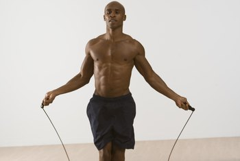Jumping rope burns more calories than jogging.