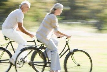 If you're elderly, take a few precautions before exercising.