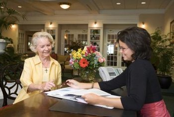 Friendly customer service at the front desk is essential to a business.