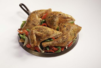 Lean chicken breast is a healthy protein source.