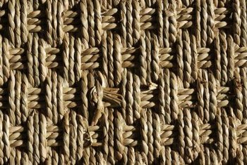 Seagrass (shown) and jute rugs are both texturally interesting.