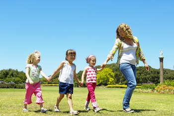 As a nanny, you use various skills and gain valuable experience working with children.
