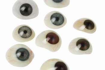 Contrary to popular belief, modern prosthetic eyes are made from acrylic, not glass.